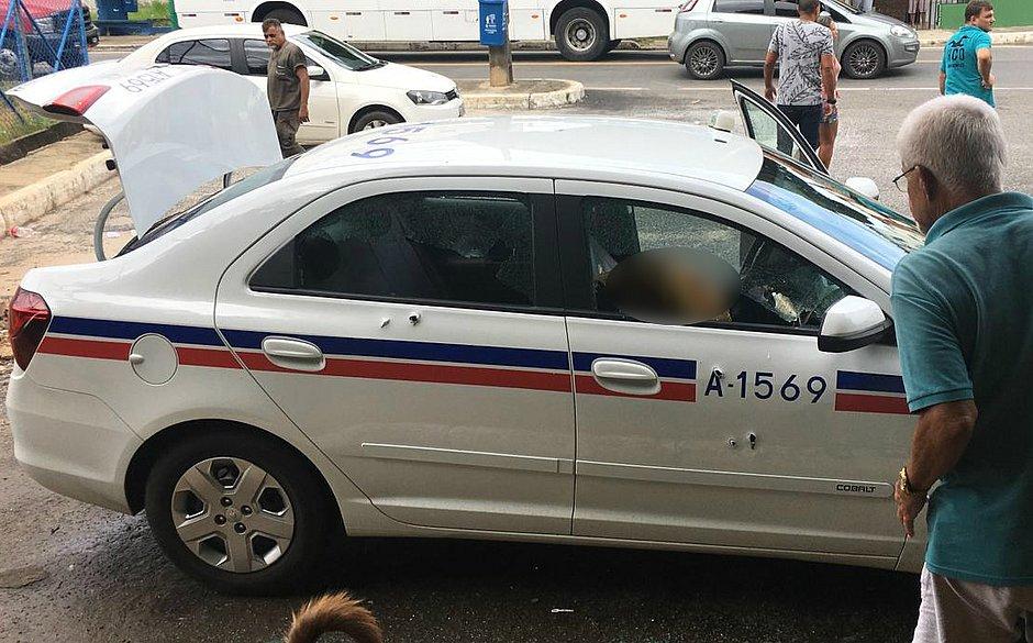 Taxista é executado por motociclistas no Saboeiro, em Salvador