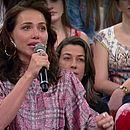 """Letícia Colin se emociona ao falar do sucesso de Rosa: """"É comovente"""""""