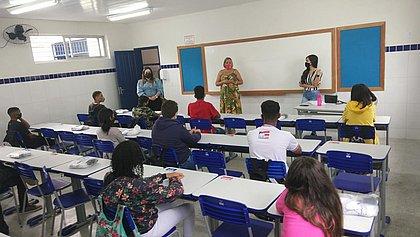 Escola do Núcleo Territorial de Educação de Senhor do Bonfim está pronta para retorno