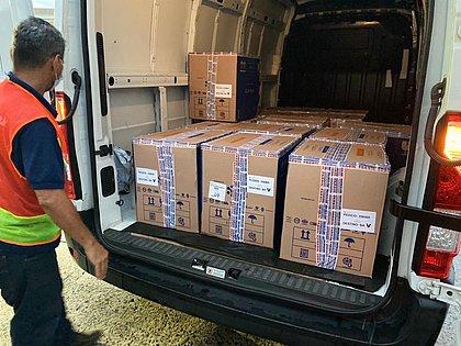 Bahia recebe lote com mais 111 mil doses da vacina da Pfizer