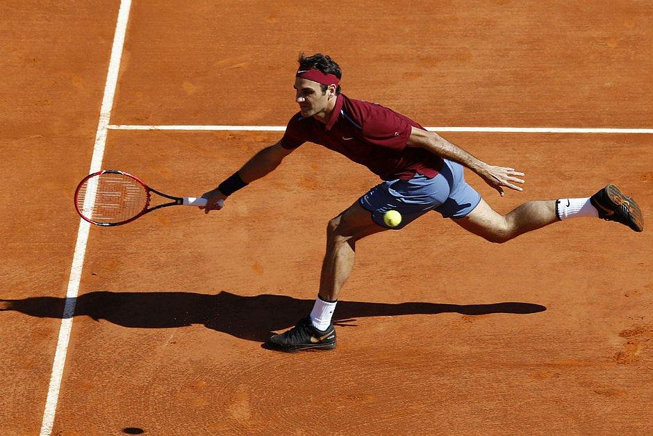 Federer não joga no saibro desde 2016