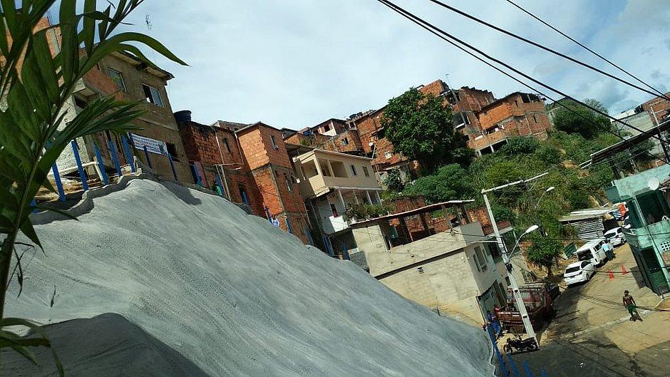 Nova geomanta beneficia 265 famílias em Nova Sussuarana