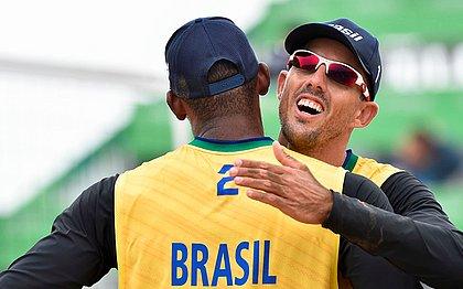 Brasil começou bem a disputa no vôlei de praia nos Jogos Pan-Americanos