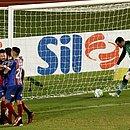 Rodriguinho marcou o gol que garantiu a primeira vitória do Bahia no Brasileirão