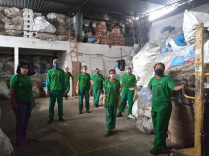 Campanha arrecada fundos para cooperativas de reciclagem em Salvador
