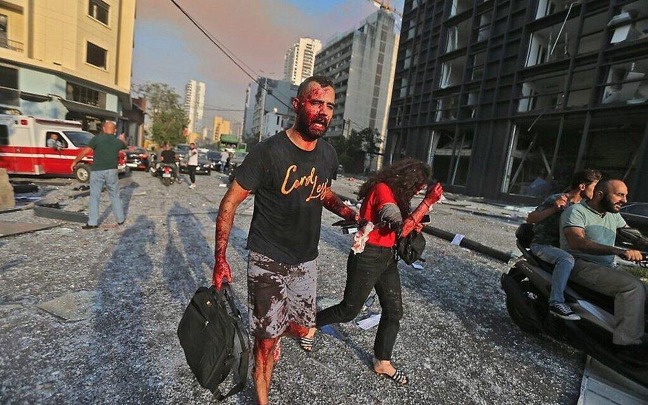Explosão em Beirute: número de mortos passa de 100 e feridos chegam a 4 mil
