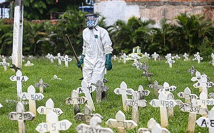 Bahia dobra número de mortos por covid-19 em menos de um mês