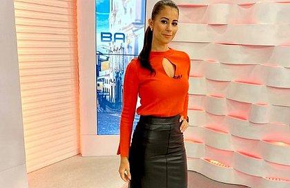 Jessica Senra está de licença da TV Bahia e ainda sem data de retorno