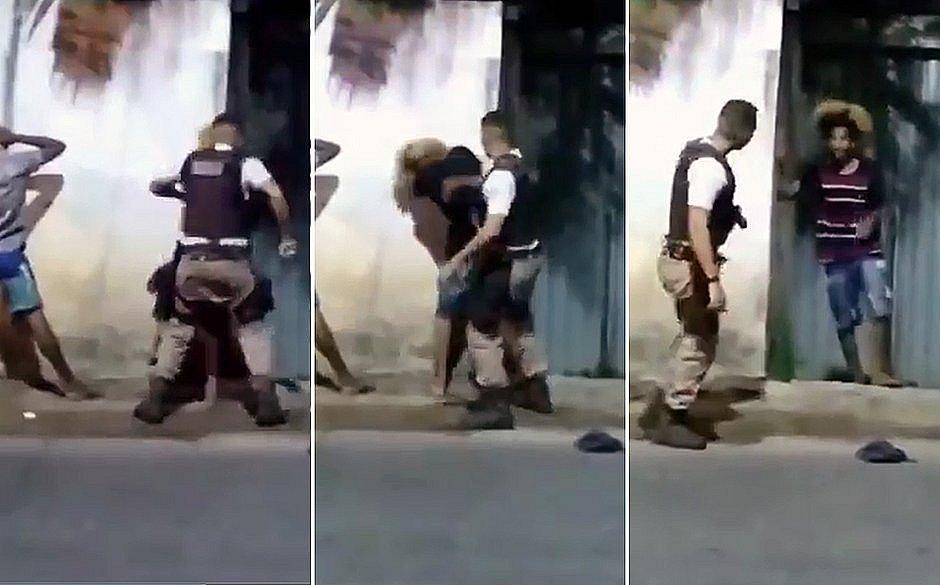 PMs são denunciados por tortura em abordagem contra jovem de black power em Paripe