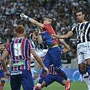 Ceará e Bahia foram protagonistas dos 10 jogos com maior público pagante do Nordestão; partida de volta da final de 2015 (foto) está na 3ª colocação