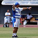 Guto comandou o último treino do Bahia em Pituaçu