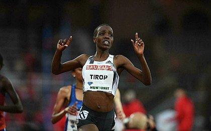 Agnes Tirop foi encontrada morta no Quênia