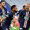 Final da Copa da França, vencida pelo PSG de Neymar, teve a presença de 2.800 espectadores