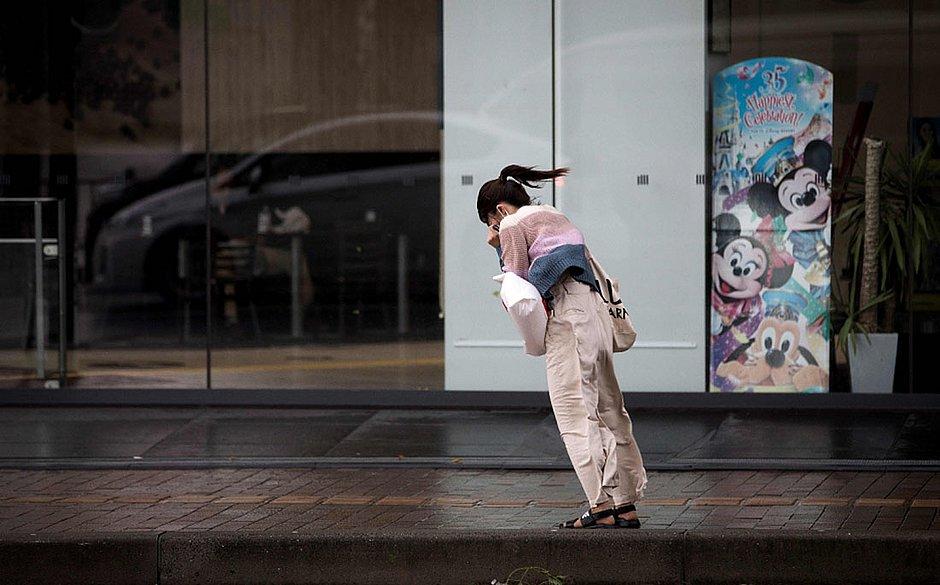 Japão: tufão Trami causa cancelamento de voos e trens e deixa 51 feridos