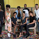 Jovens participaram da seletiva do Gandhy, no Mercado Iaô (Ribeira)