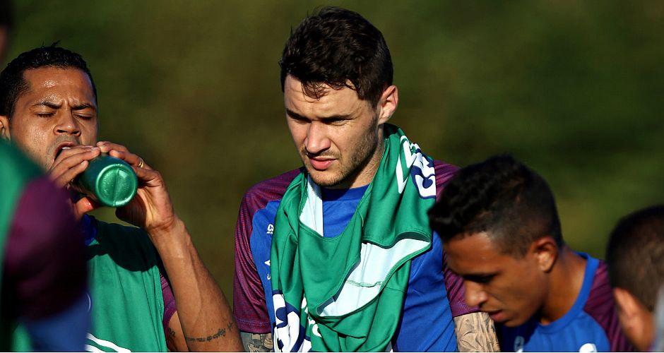 Tiago dificilmente estará em campo contra o Botafogo