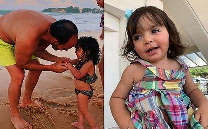 Após receber remédio de R$ 12 milhões, menina Kyara Lis dá primeiros passos