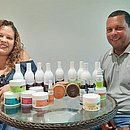 A química Bárbara Batista pesquisou muito para  chegar em uma composição livre de petrolatos e óleo mineral