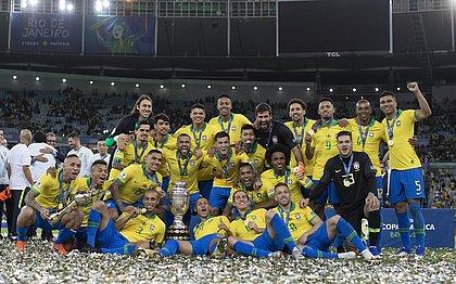 O Brasil foi o campeão da Copa América de 2019