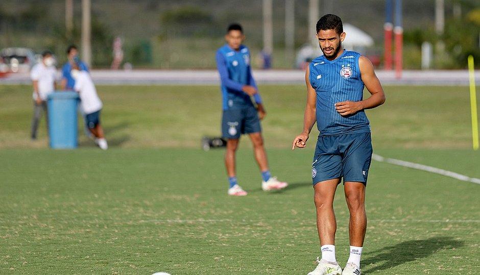 Com um gol marcado no Brasileirão, Marco Antônio vive expectativa de ser titular pela primeira vez
