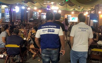 Salvador tem 13 bares e lanchonetes interditados neste fim de semana