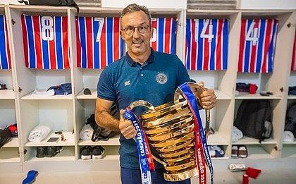 Cláudio Prates estava no Bahia desde a temporada 2018