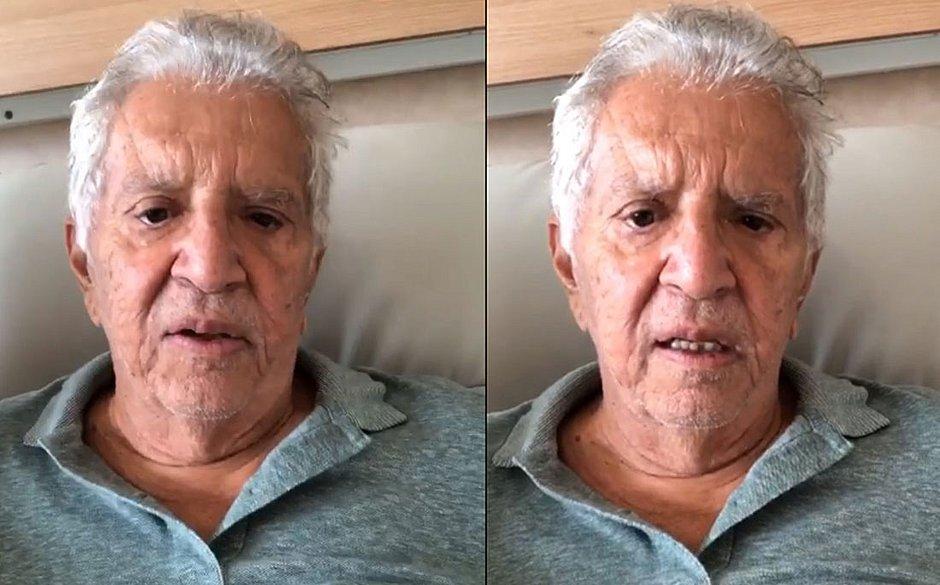 Carlos Alberto de Nóbrega é diagnosticado com prostatite