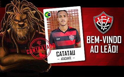 Ygor Catatau foi anunciado pelo Vitória nesta segunda-feira (8)
