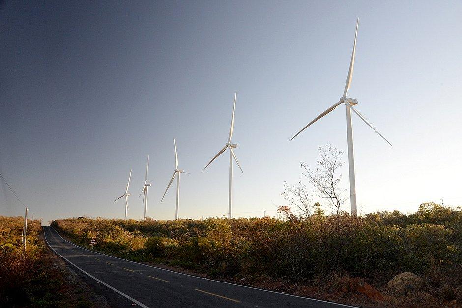 O estado encerrou o ano de 2018 na contagem regressiva para a chegada ao primeiro lugar em geração eólica