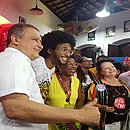 O bloco Olodum conta com apoio do Governo do Estado através do projeto Carnaval Ouro Negro
