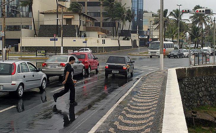 Obras na orla mudam o trânsito na Avenida Oceânica a partir do dia 2