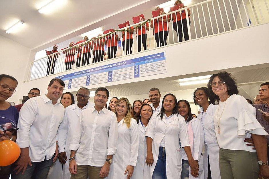 Resultado de imagem para Unidade de Saúde da Família Deputado Luiz Braga