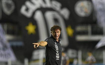Cuca deixou o Santos após 44 jogos