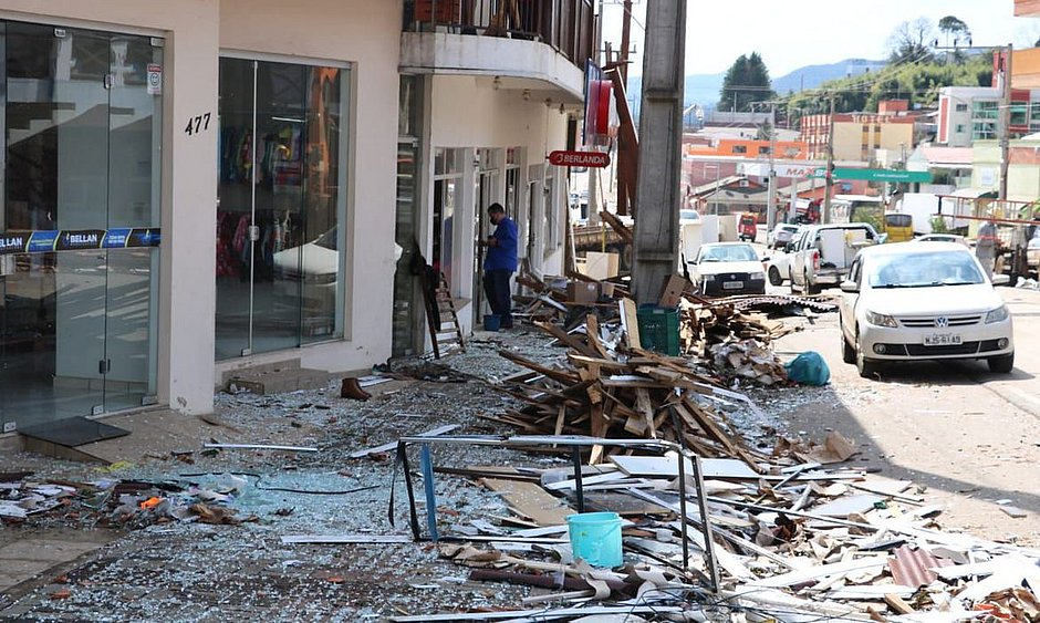 Santa Catarina tem registro de tempestades severas e tornados