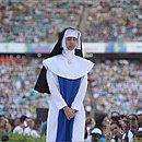 Espetáculo mostrou origem da obra social de Irmã Dulce e trajetória da religiosa