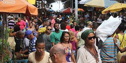 Feira de São Joaquim com movimento intenso nesta quinta-feira