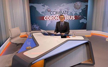 Apresentador recebe todos os dias dois especialistas para tirar dúvidas sobre o impacto do coronavírus na vida das pessoas