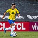 Andressinha, durante o jogo do Brasil contra o Canadá