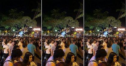 Vídeo mostra multidão aglomerada e sem máscara em Arraial D'Ajuda; veja