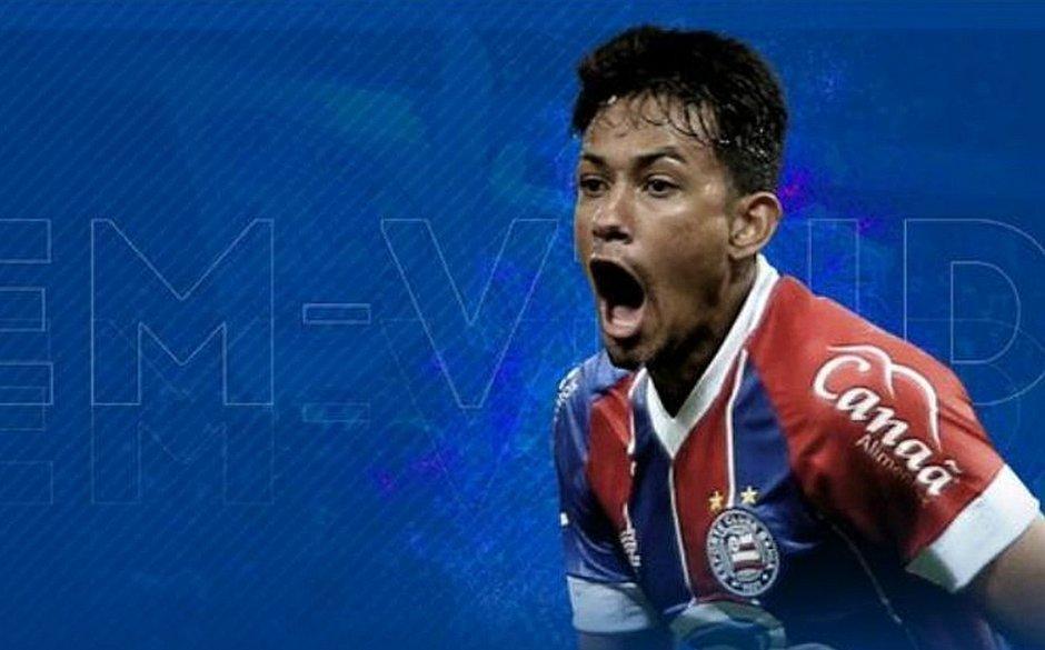 Lucca é anunciado como novo reforço do Bahia