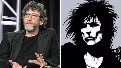O escritor Neil Gaiman e sua Criação, o rei do Sonhar