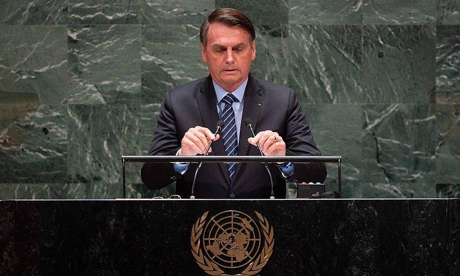 Bolsonaro vai rebater críticas sobre questões ambientais na ONU