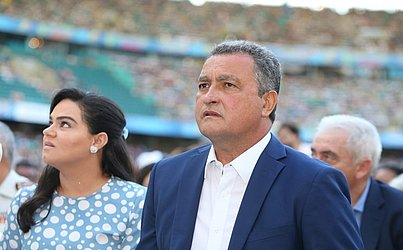 O Governador do estado, Rui Costa, também marcou presença na Arena Fonte Nova