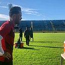 O capitão Baraka é uma das apostas do Vitória contra o Brasil de Pelotas