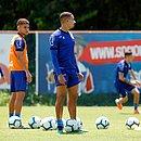 No Fazendão, tricolor fez o último treino antes de pegar o Corinthians