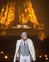 Nego do Borel publicou foto com Torre Eiffel ao fundo após o aniversário de Neymar
