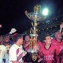Em 1997 o Vitória deu volta olímpica na Fonte Nova