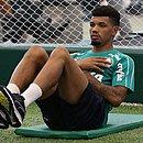 Juninho está à disposição de Roger para jogo da Copa do Brasil