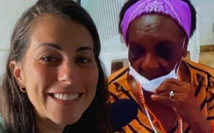 Jéssica Senra chora após ver pessoas sendo vacinadas na Bahia: 'É o começo do fim'