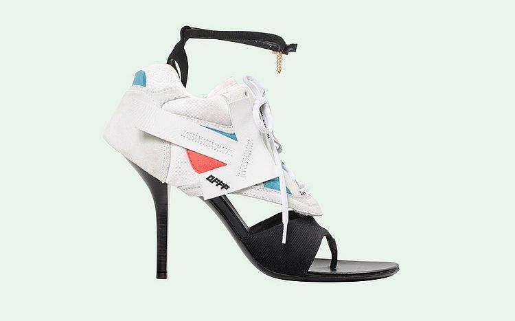 A nova bizarrice da moda está entre nós - e mistura tênis e salto